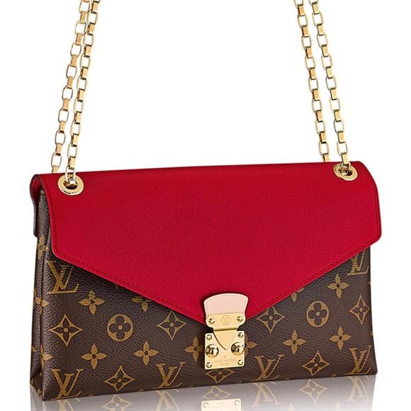 0908b510c574 NEW authentic Louis Vuitton Pallas Chain